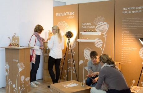 Renatur mobiler Messestand
