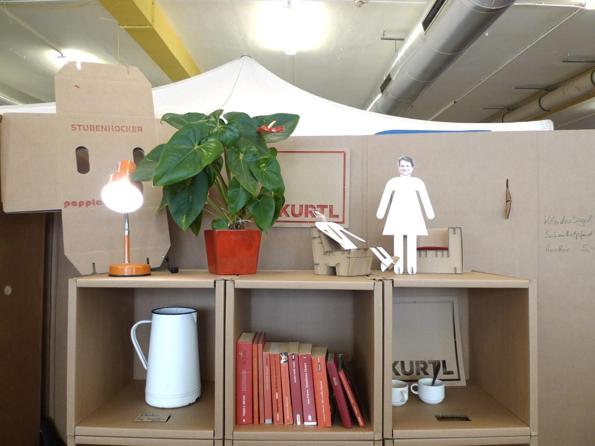 wearfair mehr kurtl m bel aus karton. Black Bedroom Furniture Sets. Home Design Ideas