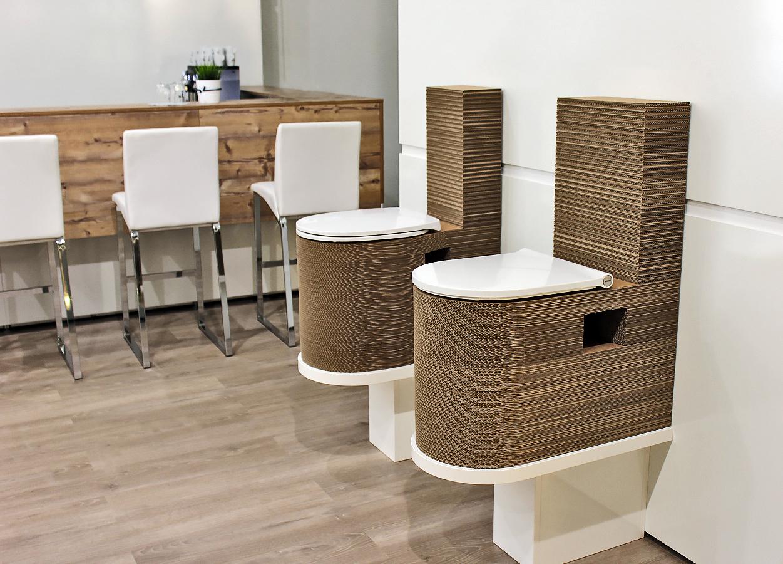 spezialanfertigungen kurtl m bel aus karton. Black Bedroom Furniture Sets. Home Design Ideas