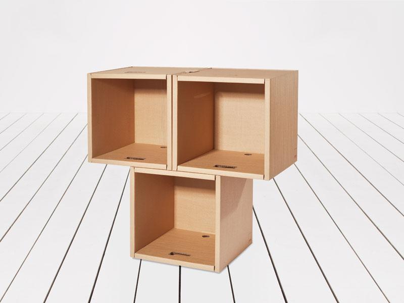 staudinger kurtl m bel aus karton. Black Bedroom Furniture Sets. Home Design Ideas