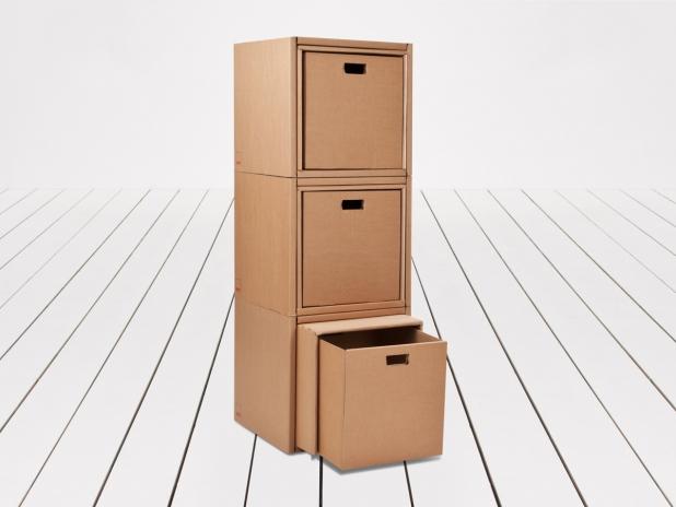 kramar kurtl m bel aus karton. Black Bedroom Furniture Sets. Home Design Ideas